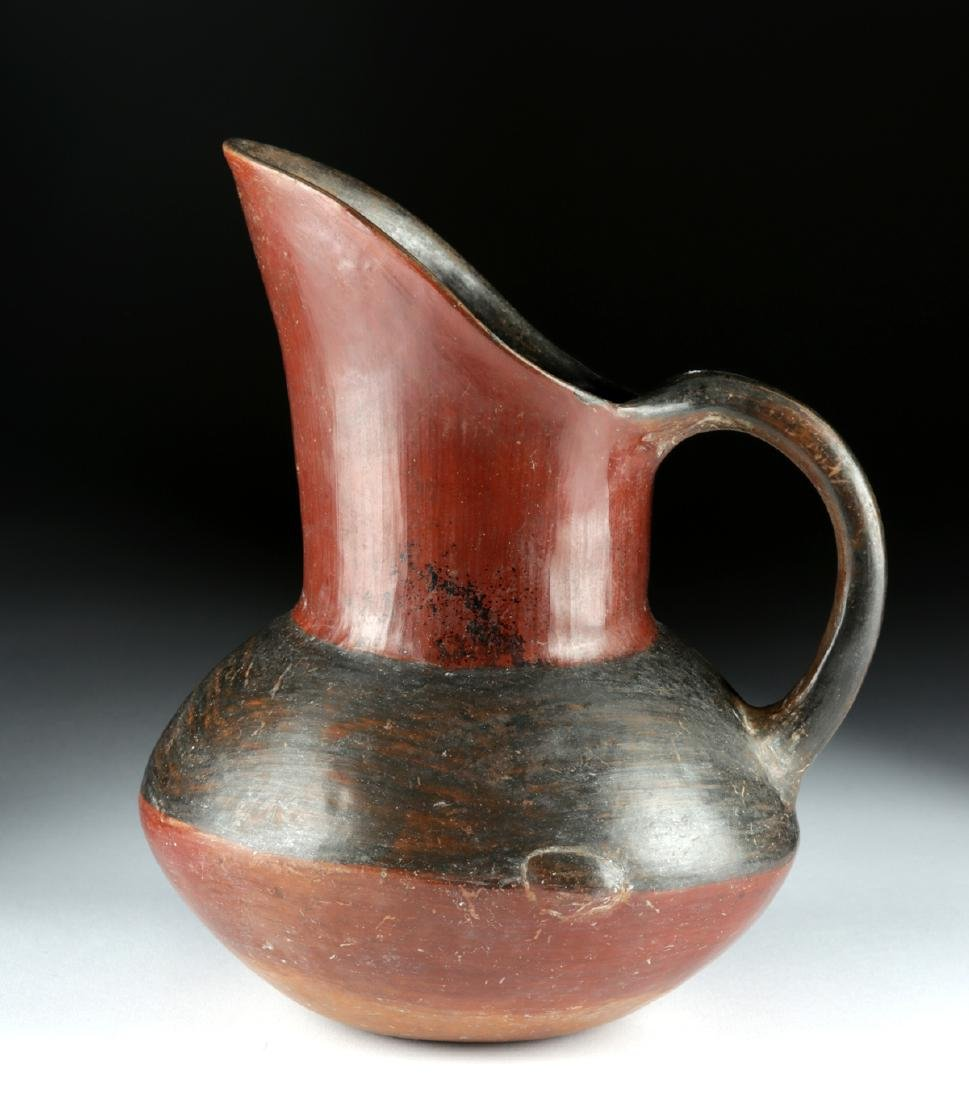 Near-Choice Aztec Pottery Pitcher, ex-Bonhams