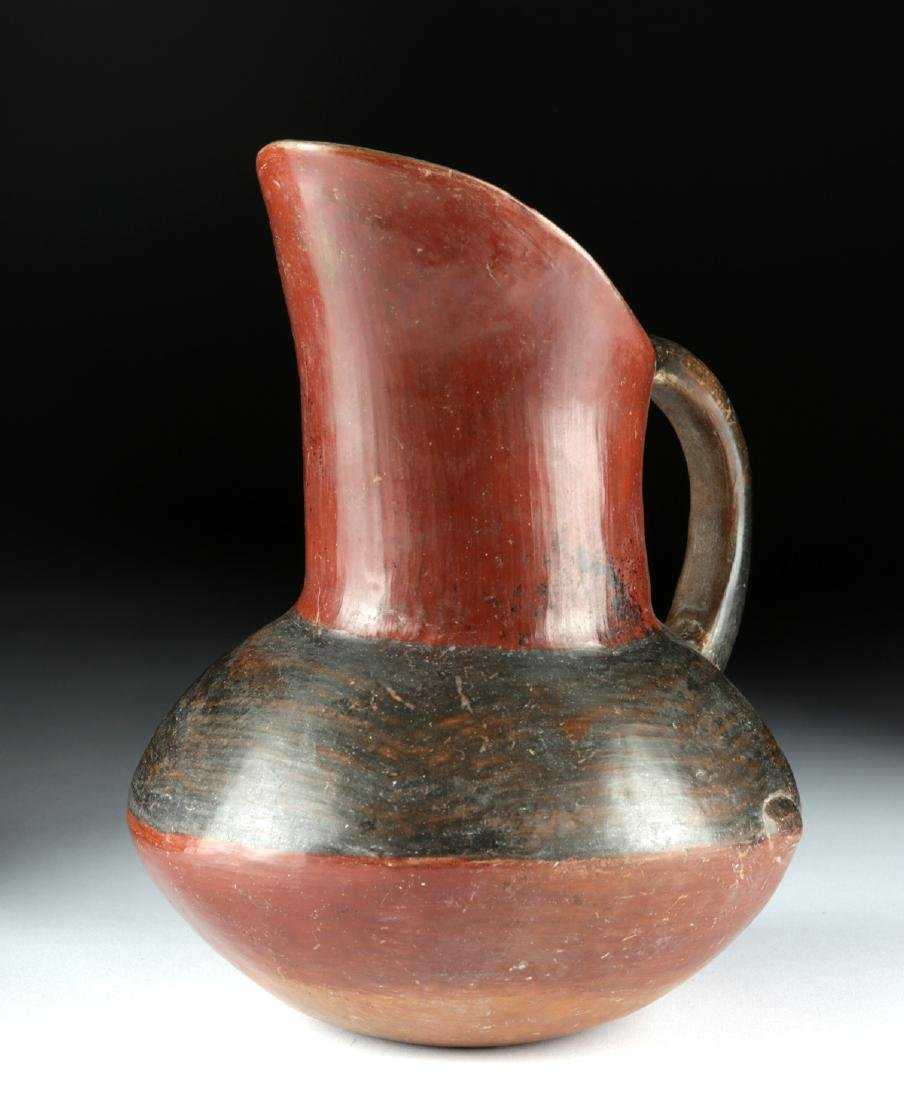 Near-Choice Aztec Pottery Pitcher, ex-Bonhams - 2