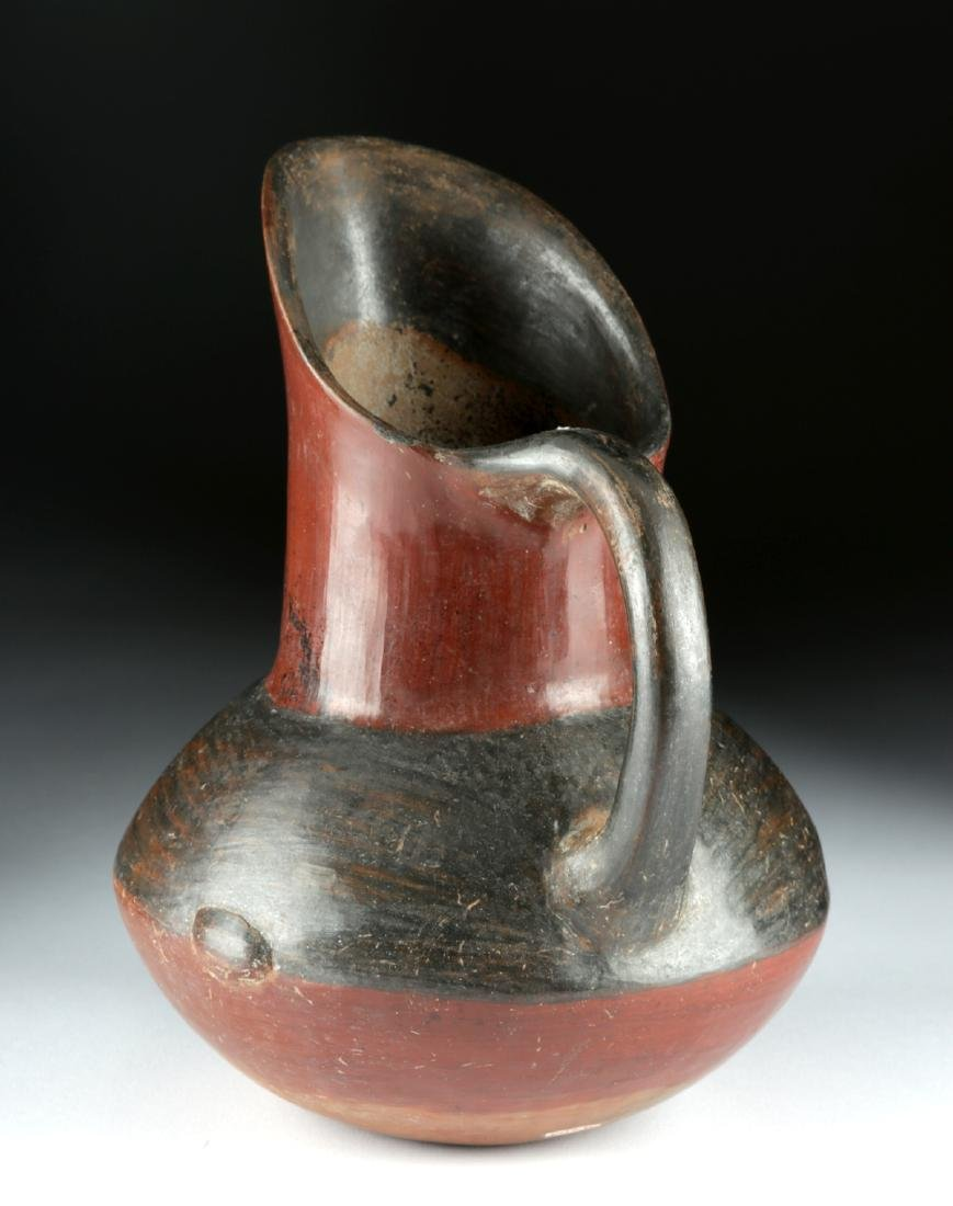 Near-Choice Aztec Pottery Pitcher, ex-Bonhams - 3
