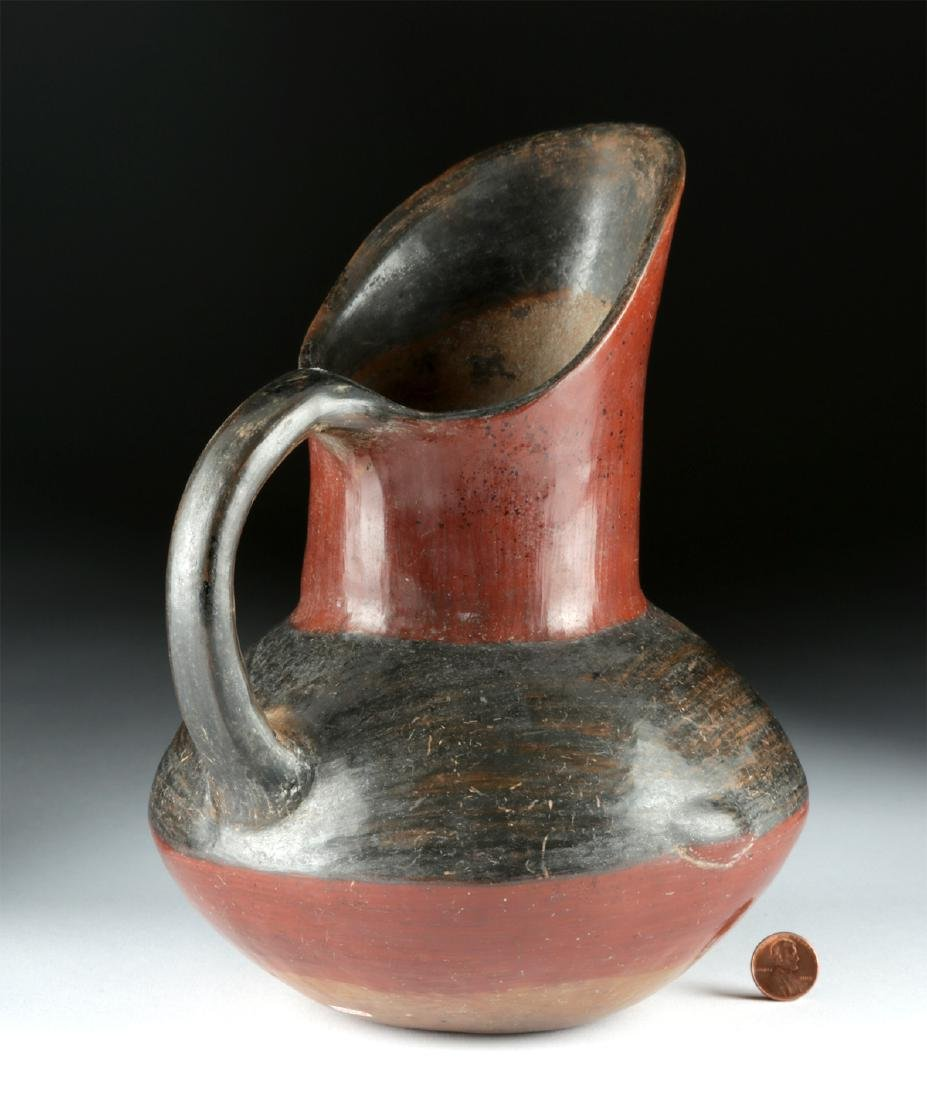 Near-Choice Aztec Pottery Pitcher, ex-Bonhams - 4