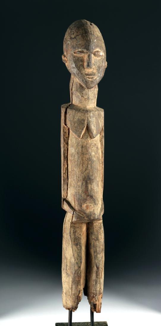 Early 20th C. African Lobi Wood Nude Figure