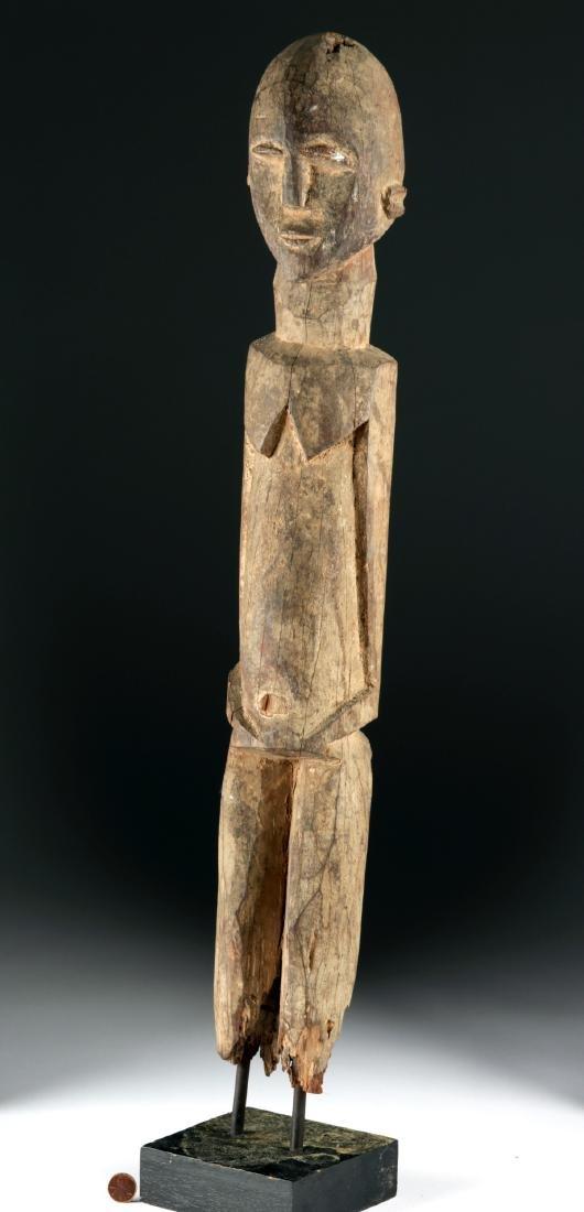 Early 20th C. African Lobi Wood Nude Figure - 2