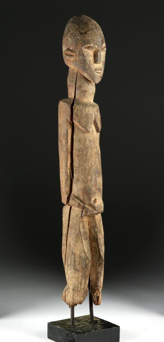 Early 20th C. African Lobi Wood Nude Figure - 3