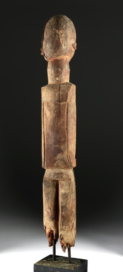 Early 20th C. African Lobi Wood Nude Figure - 4