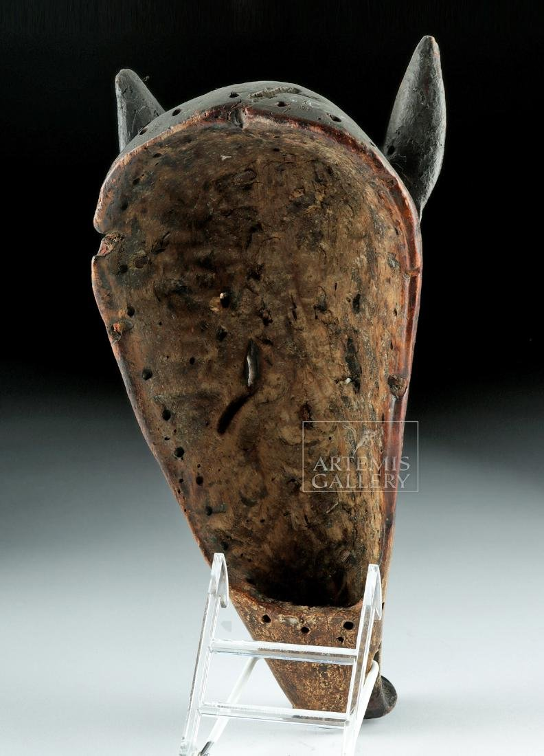 20th C. African Chokwe Dance Mask - Long-Nose Pig - 4