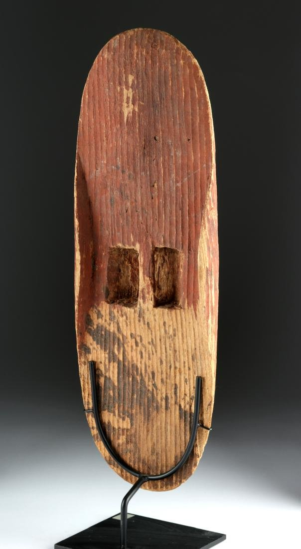 Early 20th C. Australian Wood Parrying Shield - 5