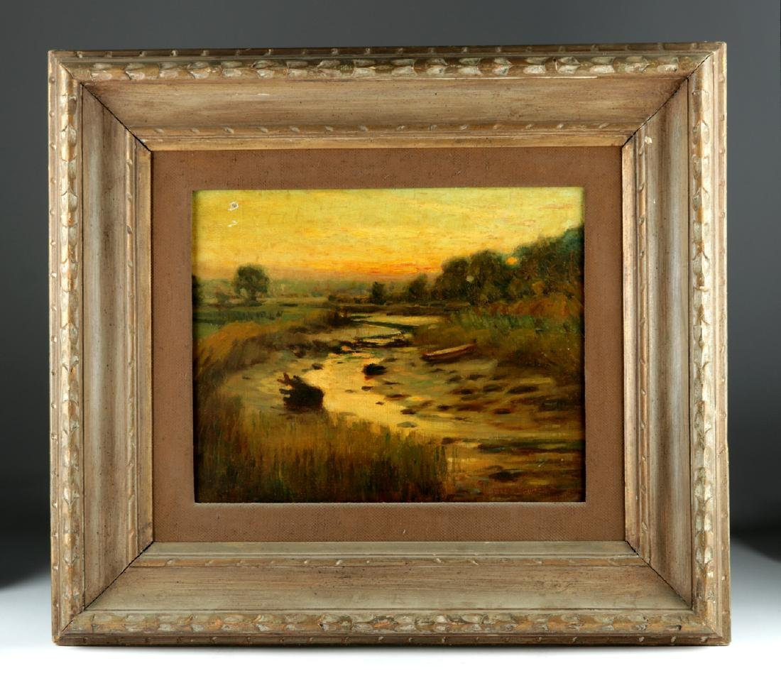 19th C. Oil Painting by Otto Charles Wigand
