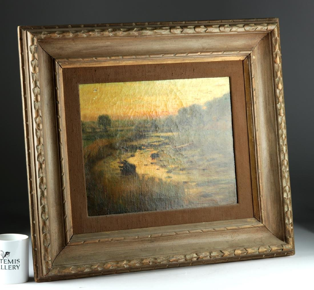 19th C. Oil Painting by Otto Charles Wigand - 4