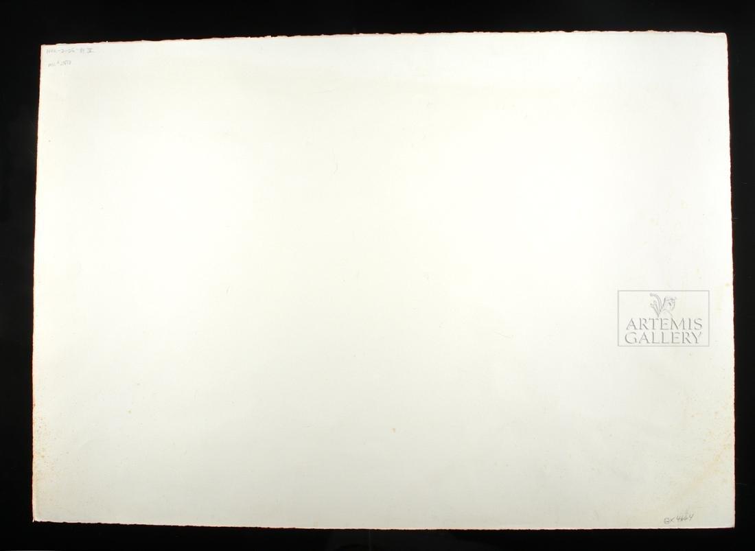 Signed Reuben Nakian Watercolor, Three Graces - 1960s - 4