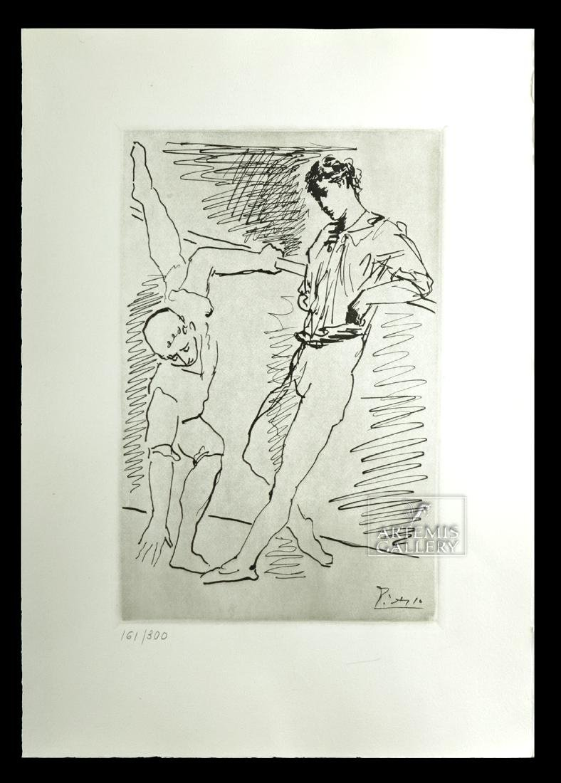 Picasso - Original Lithograph of Ballet Practice - 1940