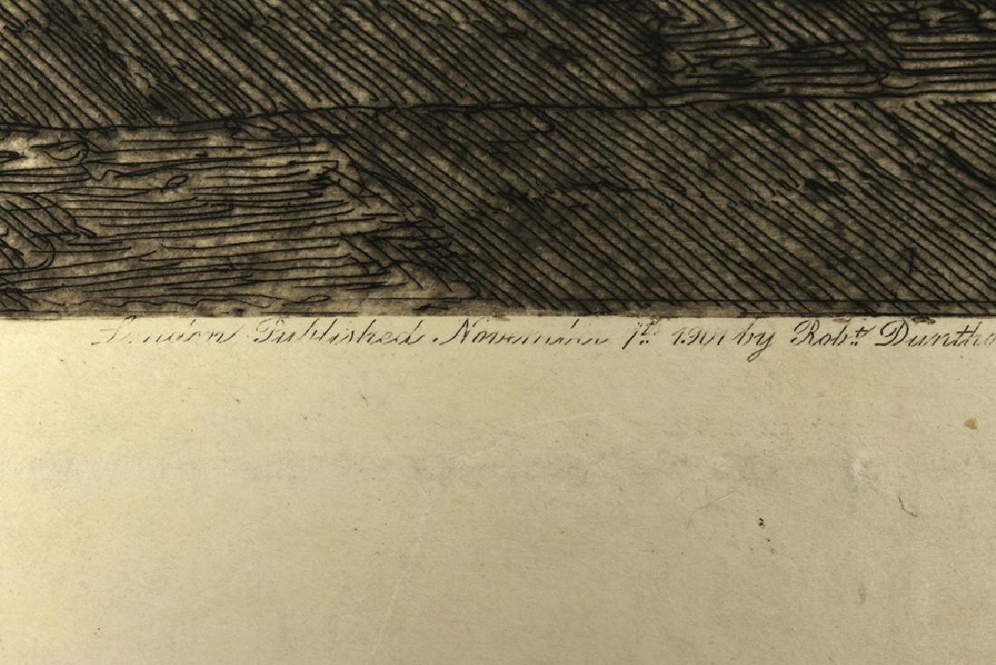 "Signed Haig Aquatint, ""Cefalu Cathedral"" 1901 - 6"