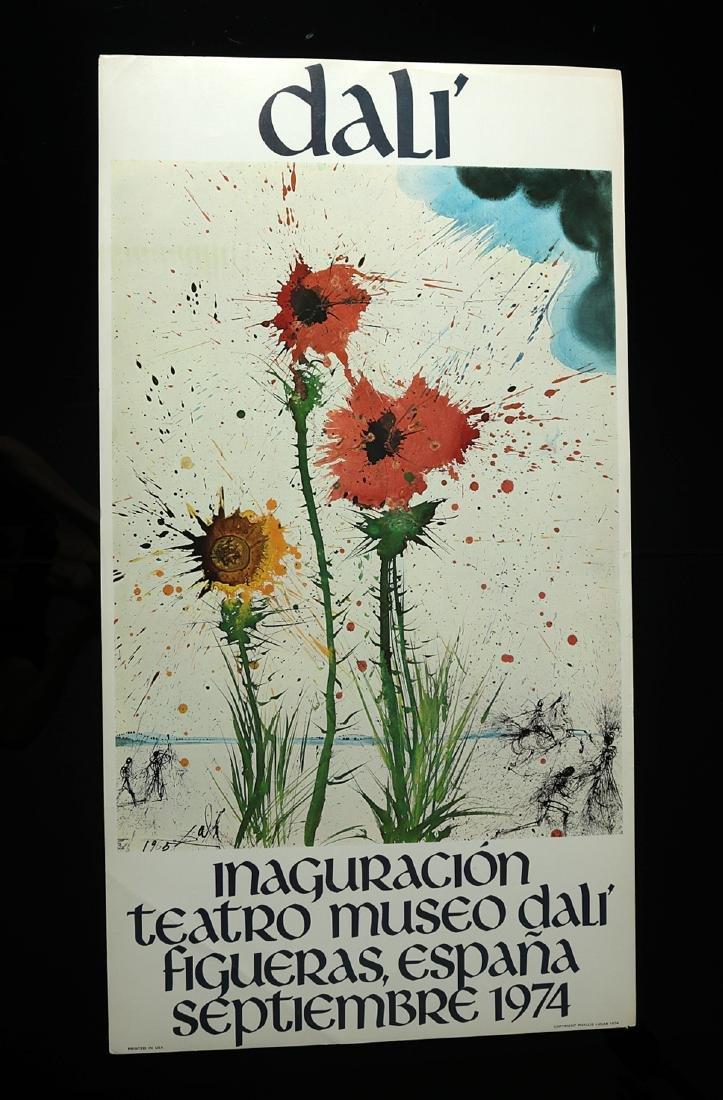 Original Poster - Inauguration Dali Theatre Museum 1974