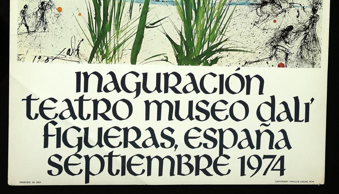 Original Poster - Inauguration Dali Theatre Museum 1974 - 2