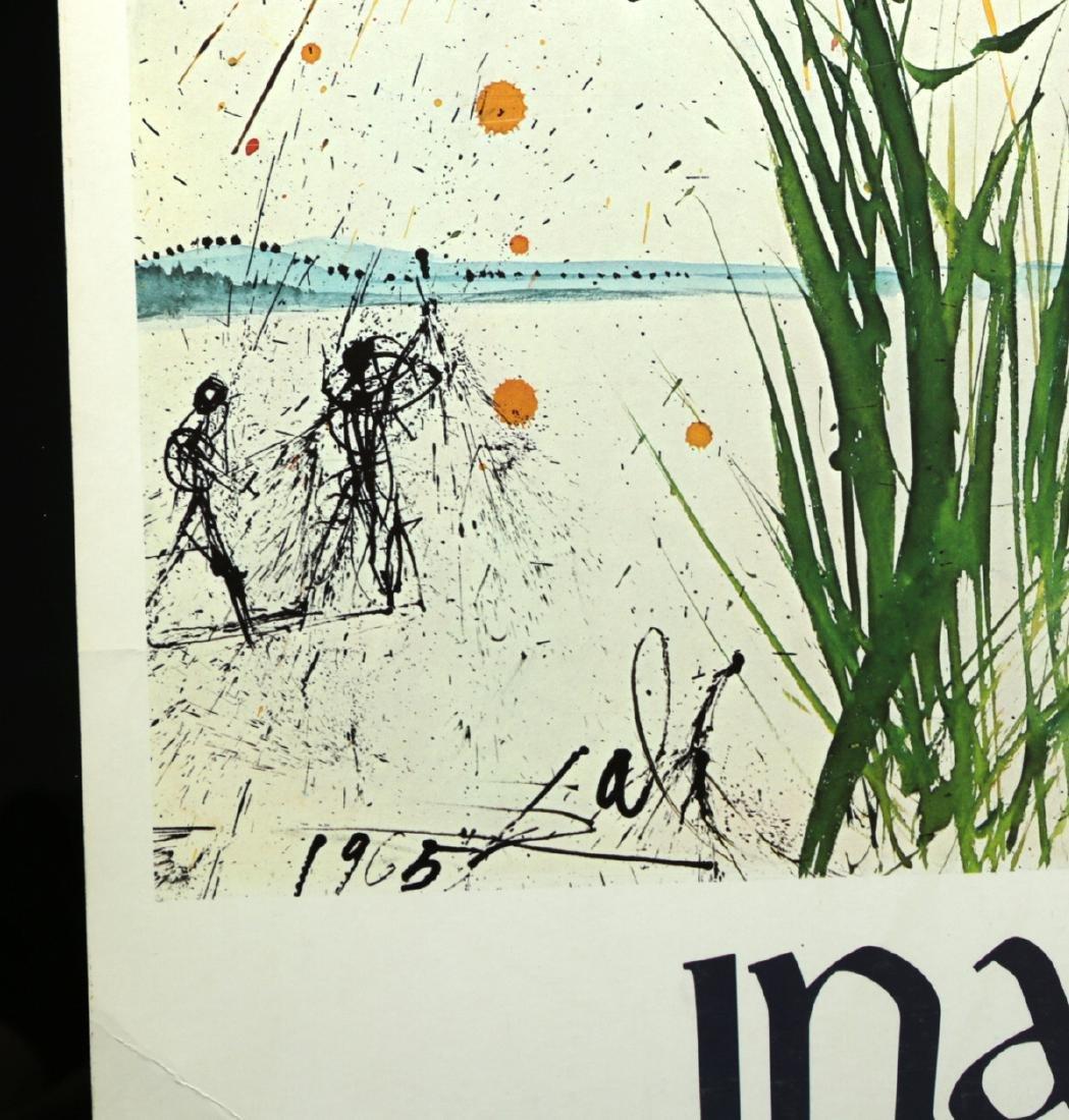 Original Poster - Inauguration Dali Theatre Museum 1974 - 4