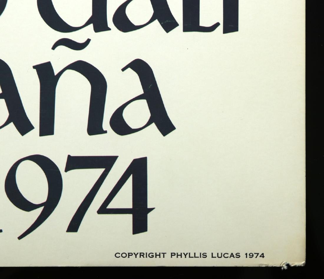 Original Poster - Inauguration Dali Theatre Museum 1974 - 6