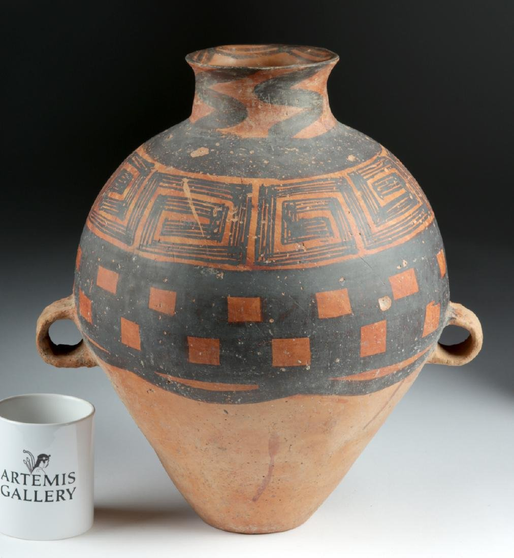 Chinese Neolithic Polychrome Vessel w/ TL