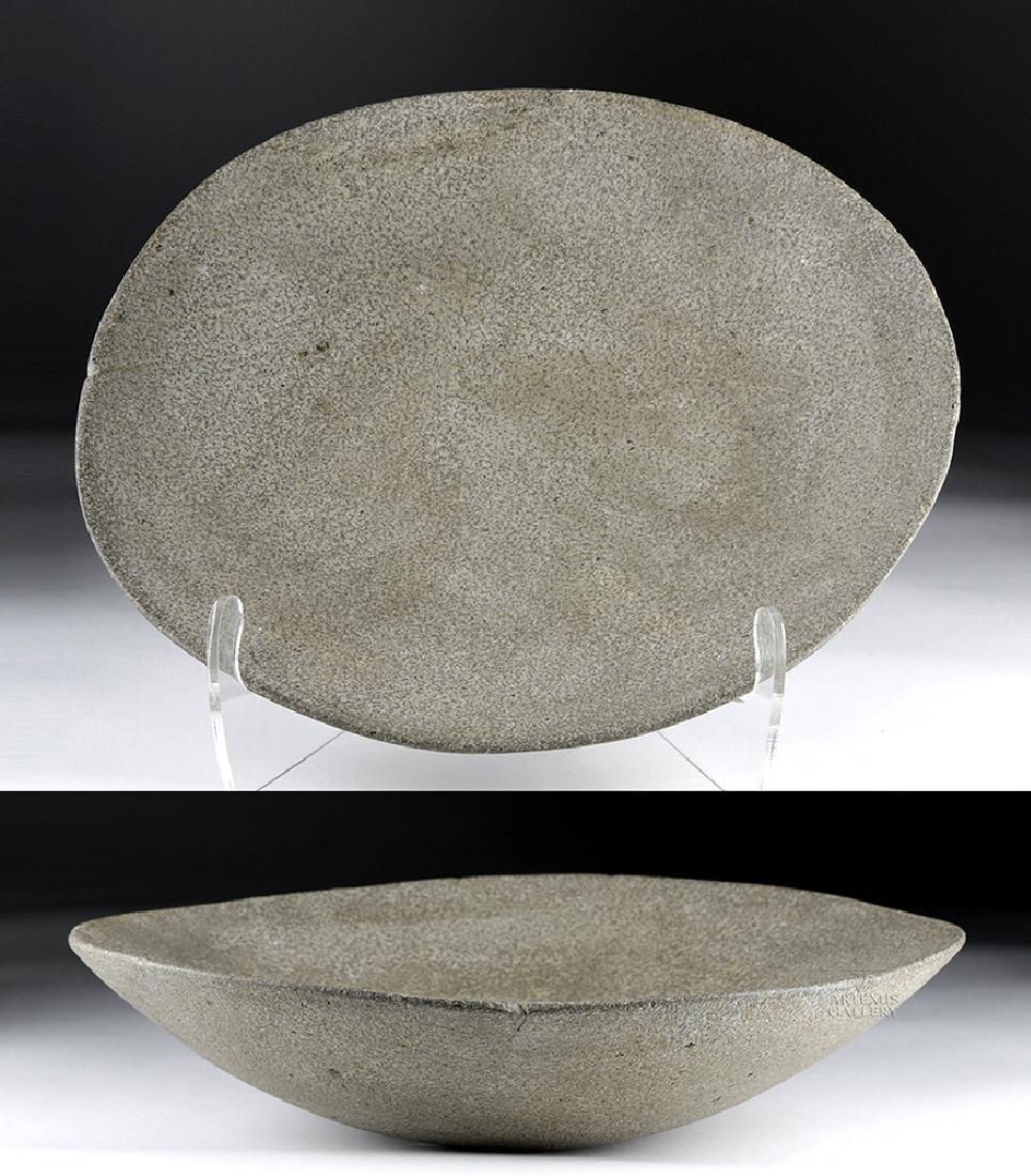Large Chavin Stone Dish - Ritual Preparation
