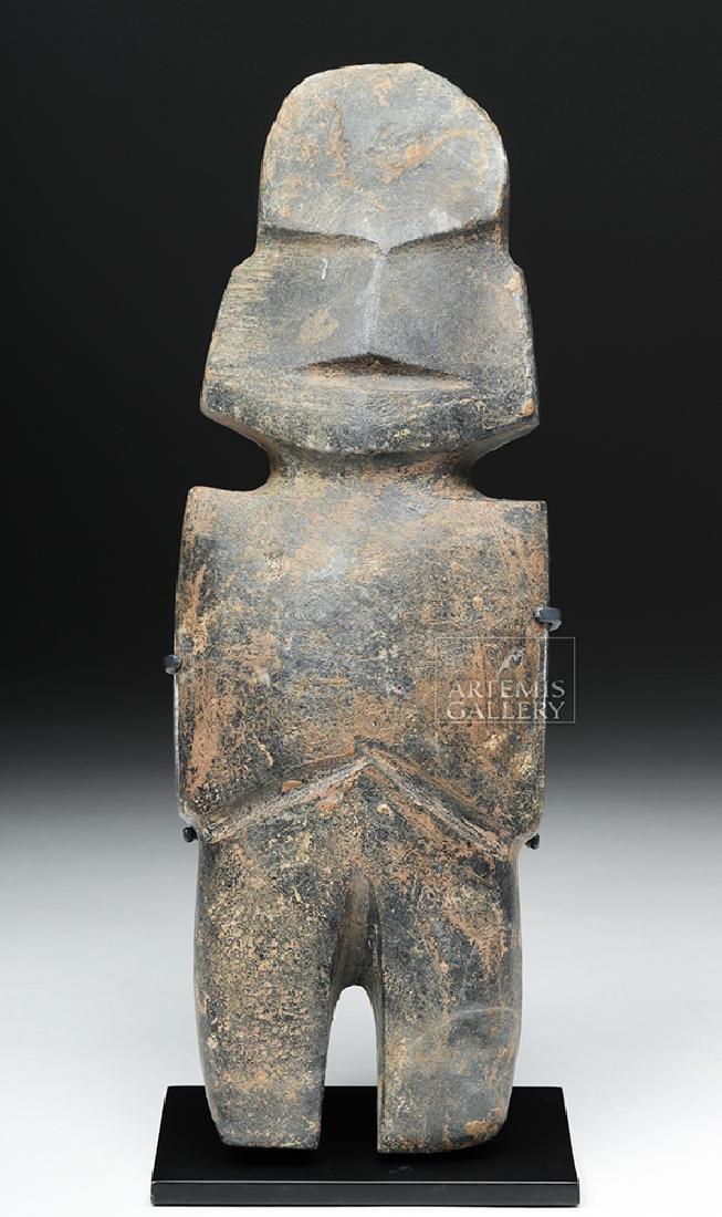 Tall Guerrero Mezcala Andesite Axe God