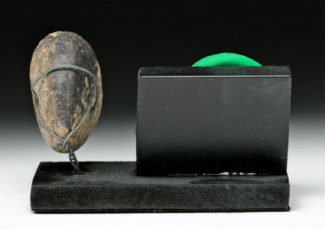 Ancient Greek Stone Seal - Sensuous Female - 4