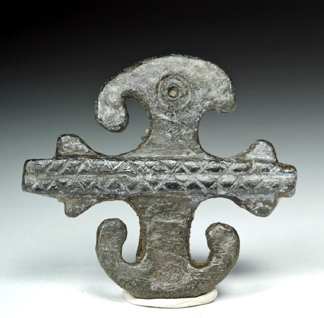 Roman Bronze Military Fibula / Brooch