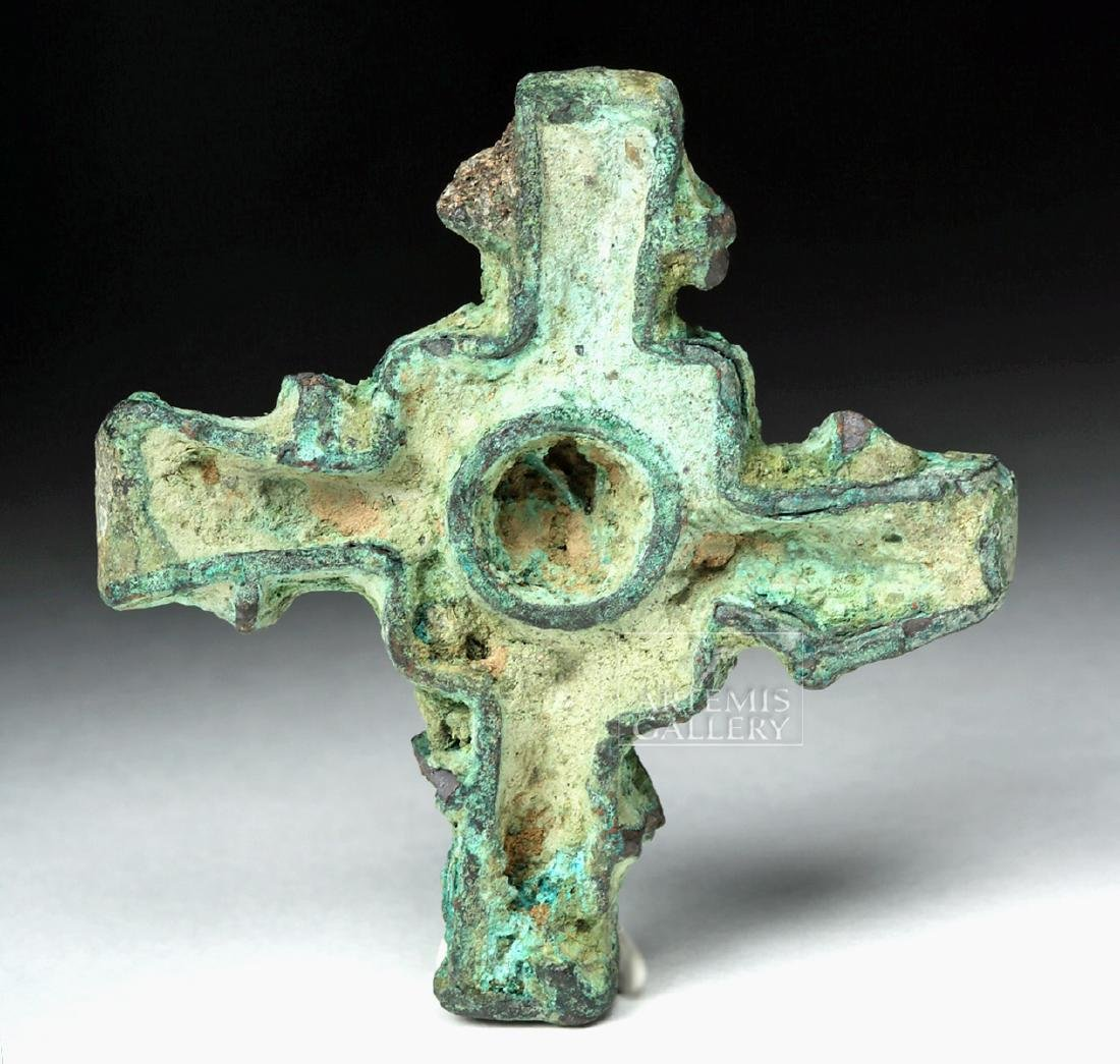 Bactrian Cross-Shaped Bronze Stamp Seal