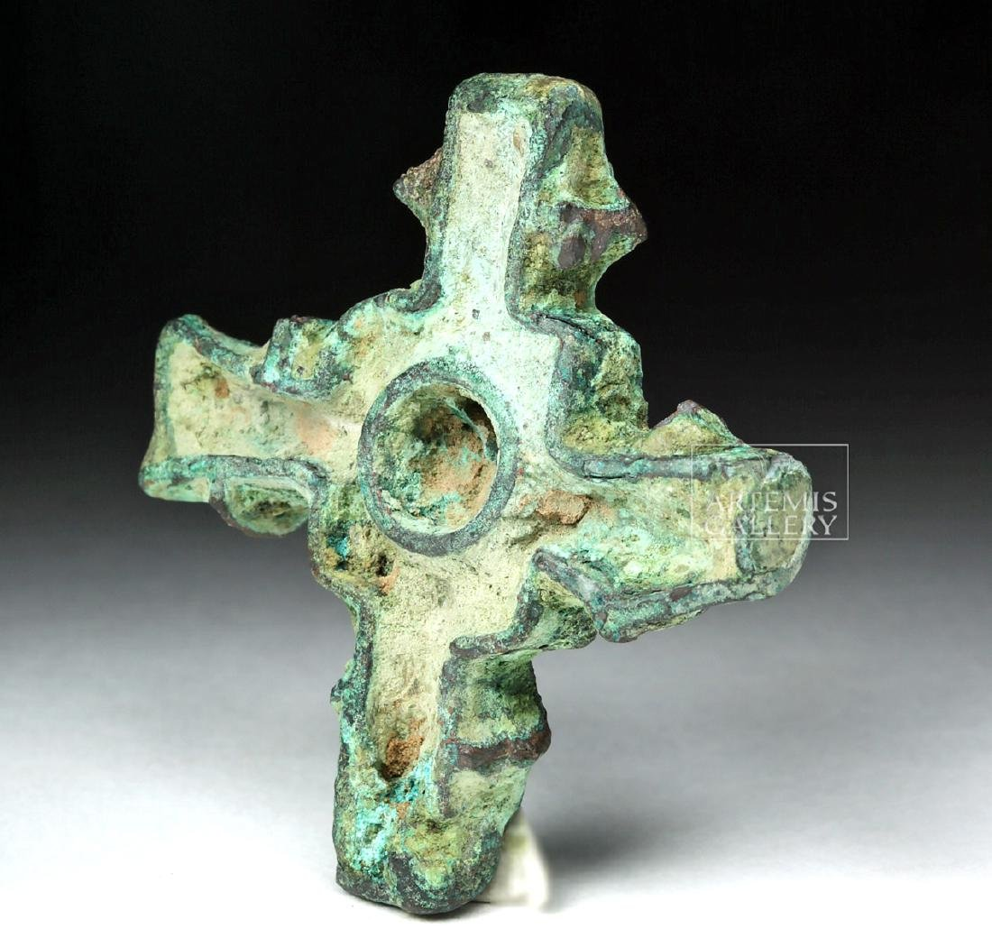 Bactrian Cross-Shaped Bronze Stamp Seal - 2