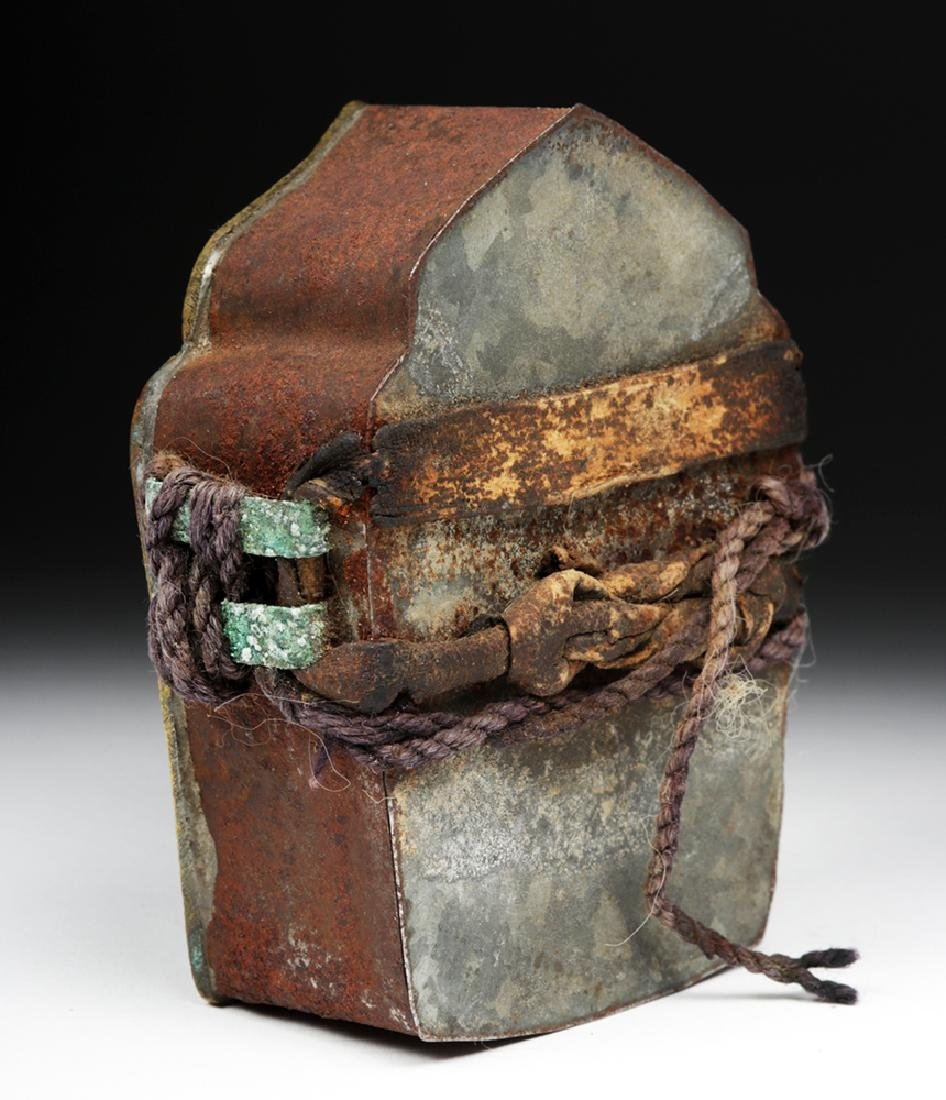 """Early 20th C. Tibetan Bronze """"Ghau"""" - Prayer Box - 3"""
