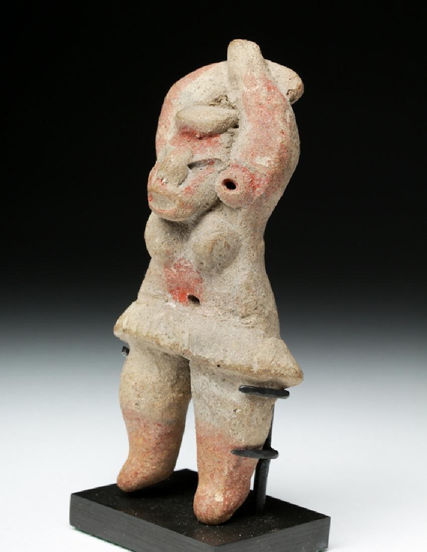 Tlatilco Bi-Chrome Flat Figure - Captive Female - 2