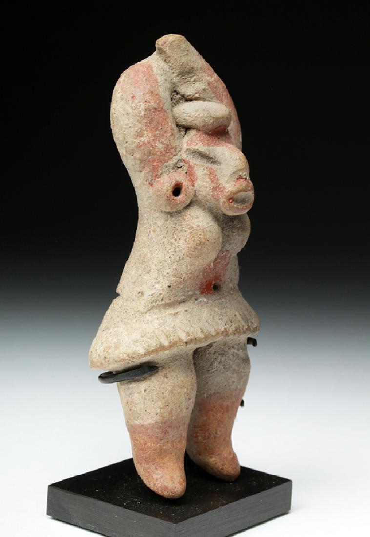 Tlatilco Bi-Chrome Flat Figure - Captive Female - 3