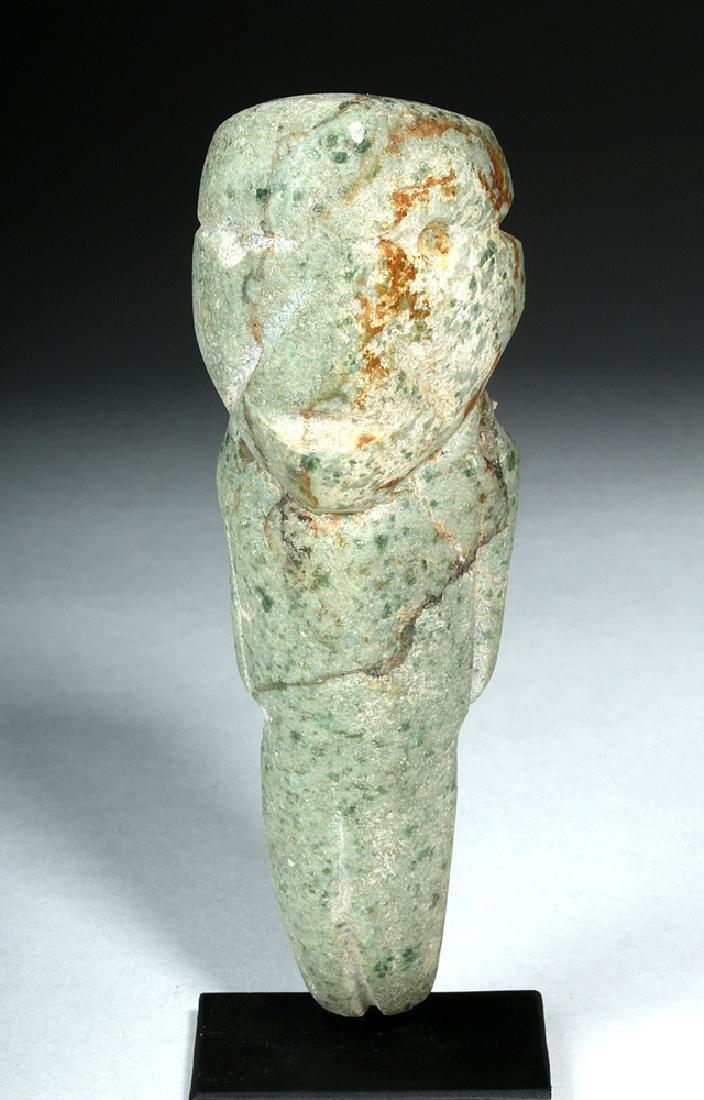 Guerrero Mezcala Carved Greenstone Figure