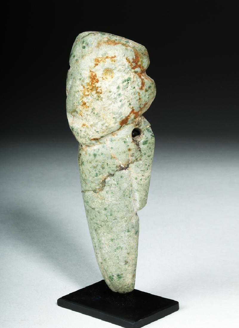 Guerrero Mezcala Carved Greenstone Figure - 2