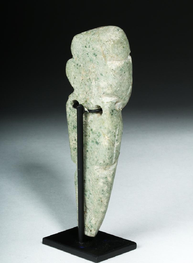 Guerrero Mezcala Carved Greenstone Figure - 4