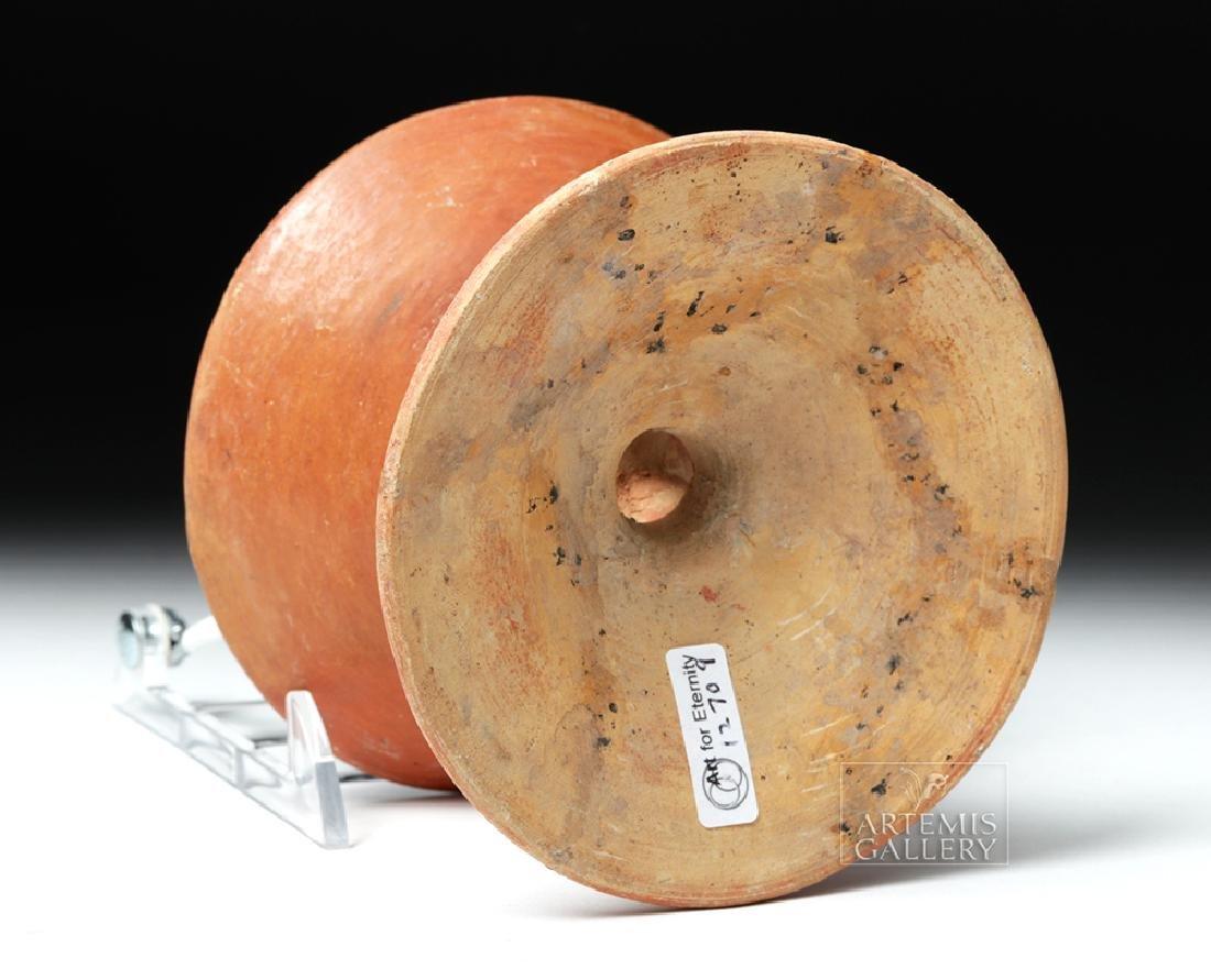 Chorrera / La Tolita Pottery Pedestal Plate - Birds - 7