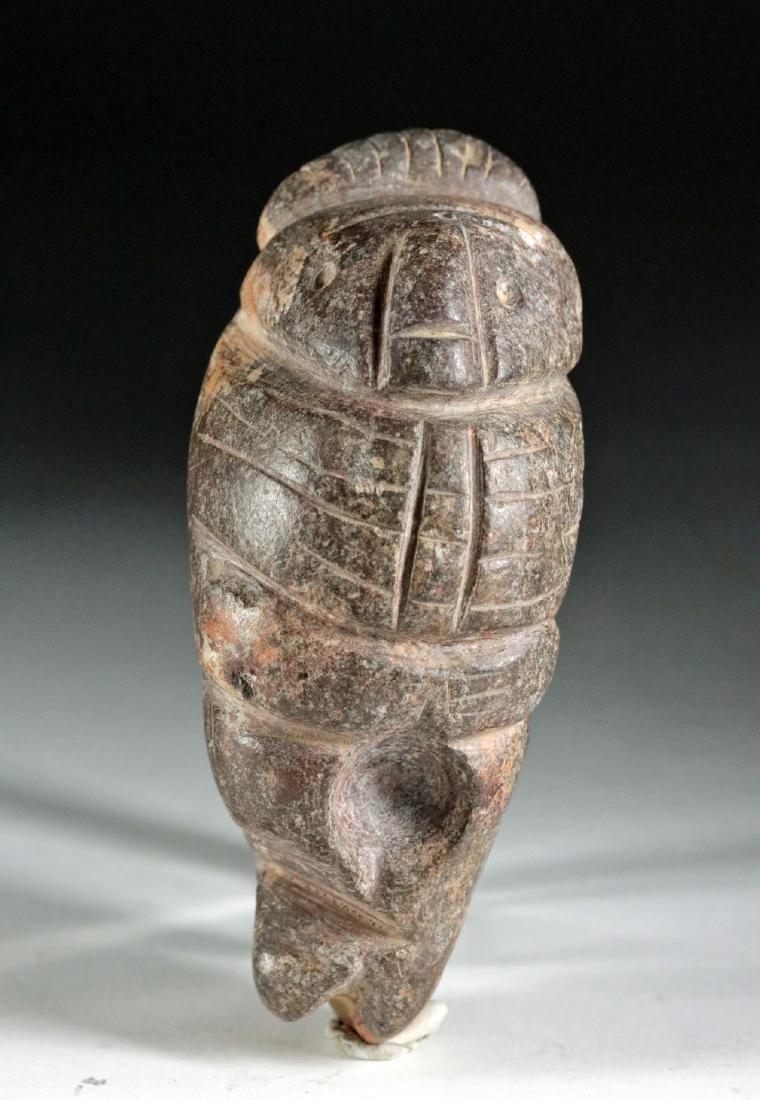 Rare Colima Stone Figural Double Tool - 2