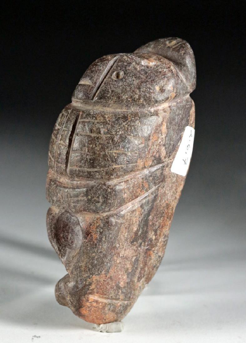 Rare Colima Stone Figural Double Tool - 3