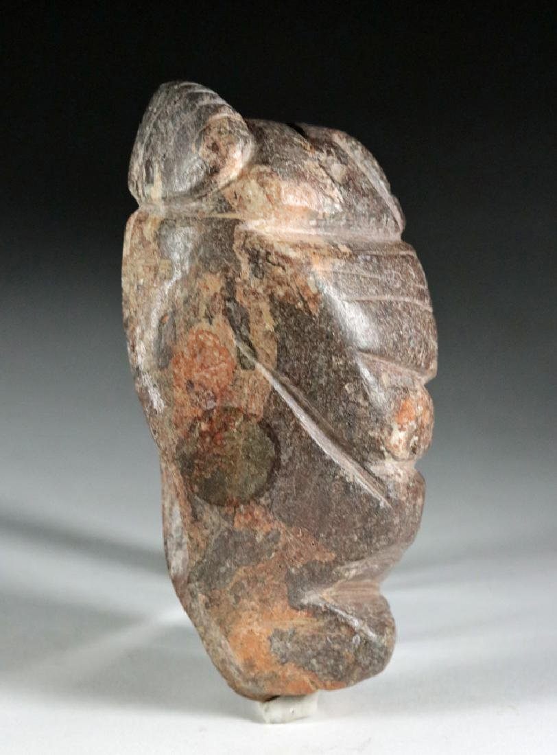 Rare Colima Stone Figural Double Tool - 5