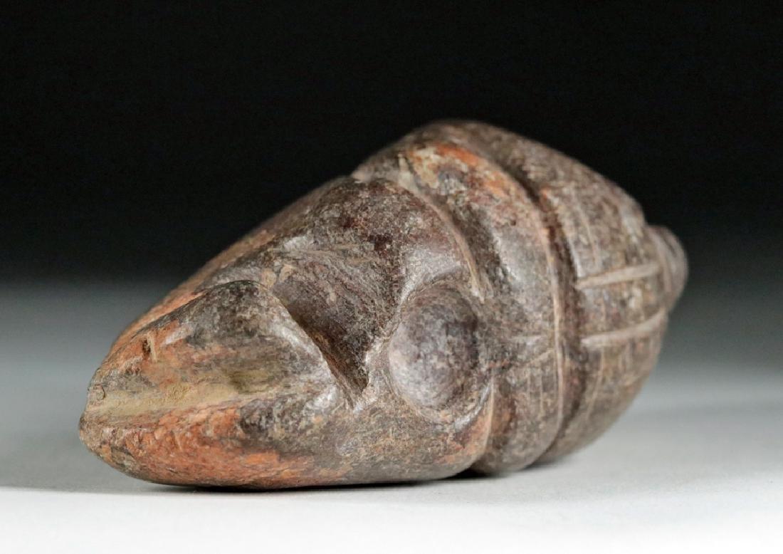Rare Colima Stone Figural Double Tool - 6