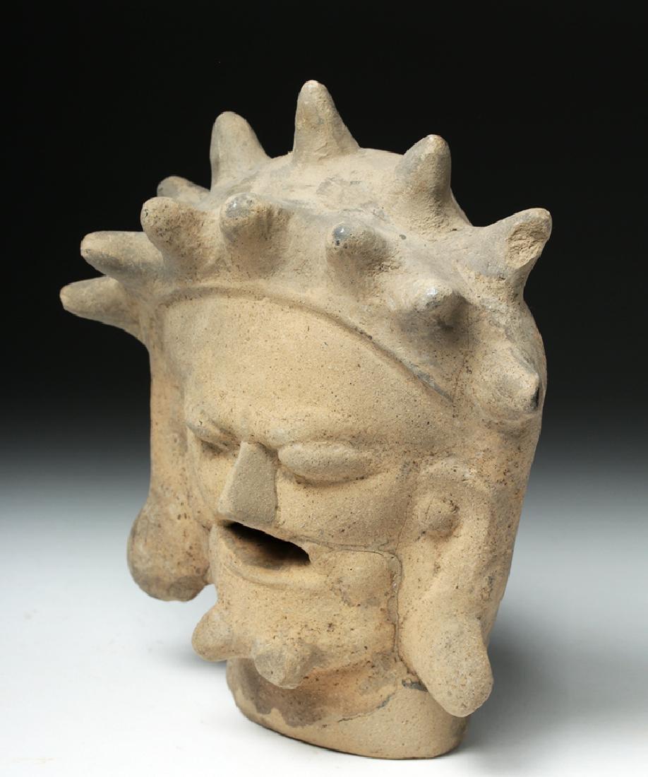 Rare Bahia Pottery Head of an Old Man - 2