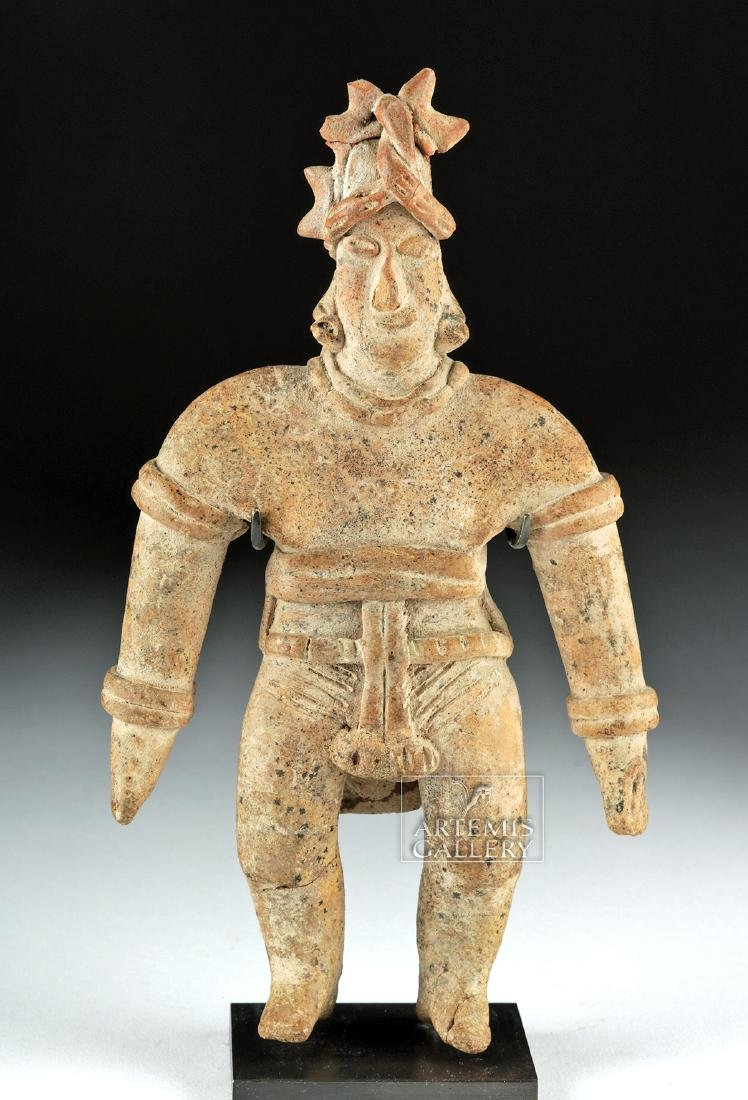 Colima Pottery Standing Warrior