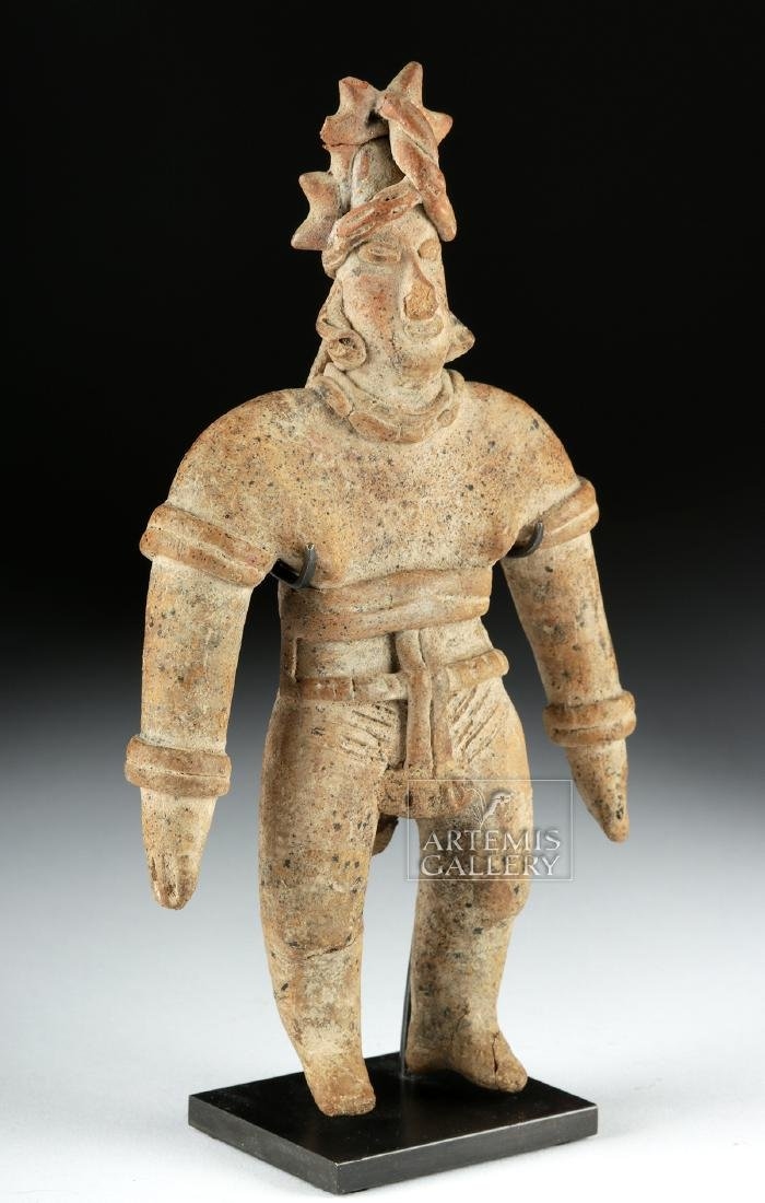 Colima Pottery Standing Warrior - 2