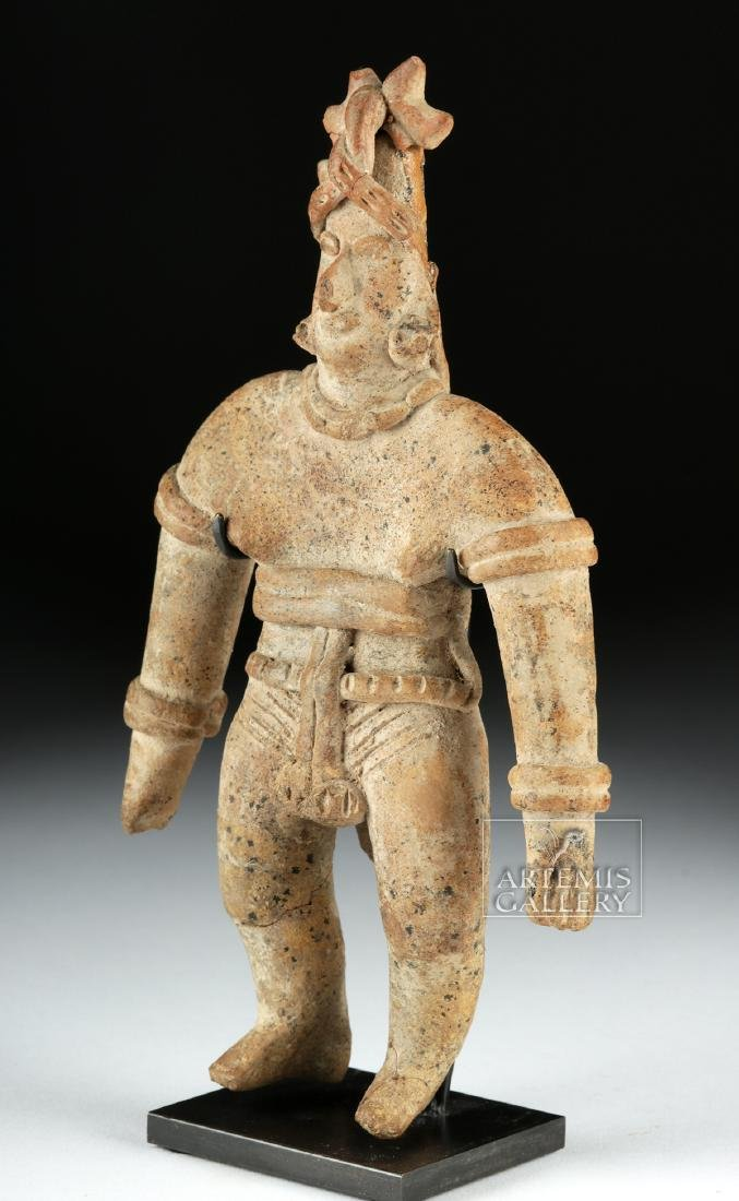 Colima Pottery Standing Warrior - 3
