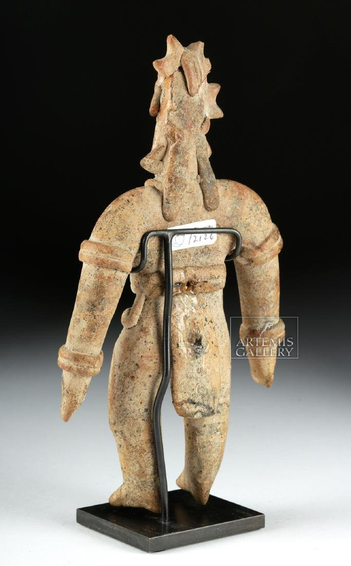 Colima Pottery Standing Warrior - 4