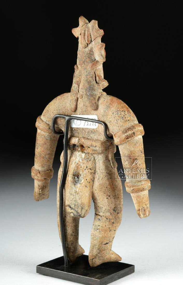 Colima Pottery Standing Warrior - 5