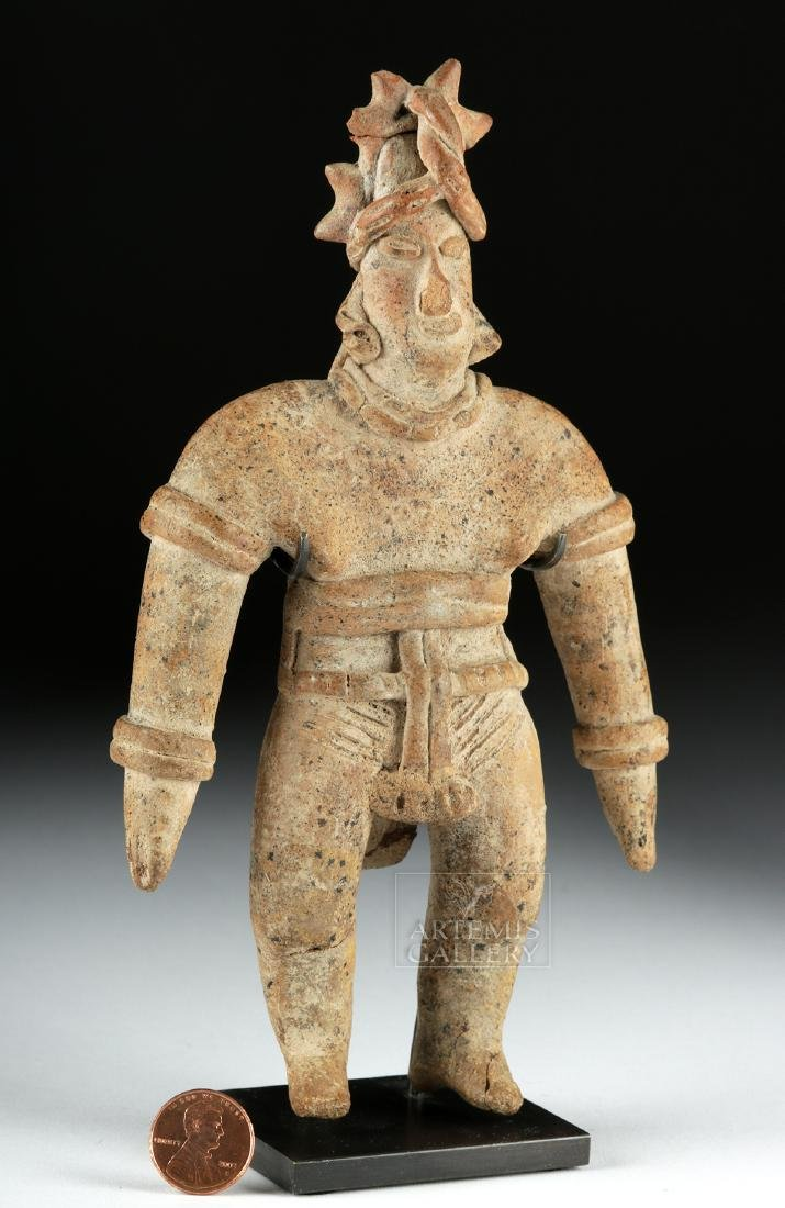 Colima Pottery Standing Warrior - 6