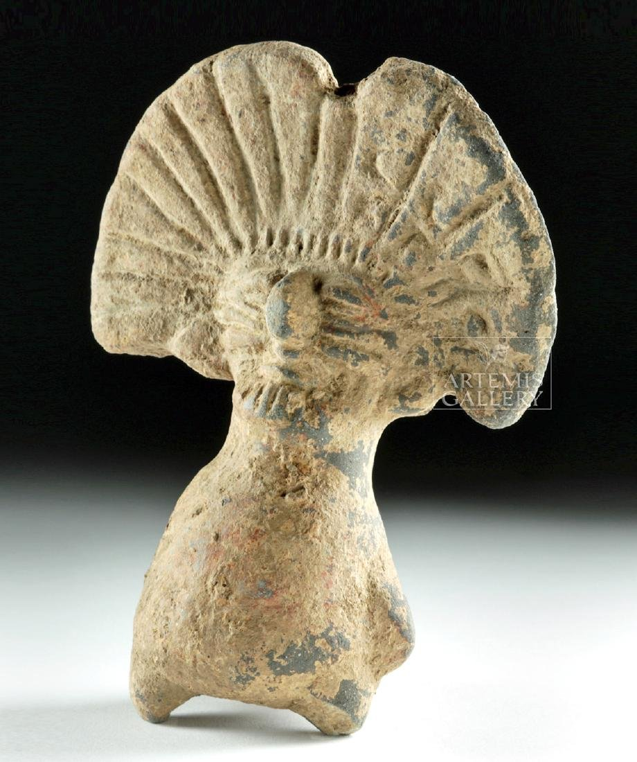 Teotihuacan Pottery Whistle in Bird Form - 3