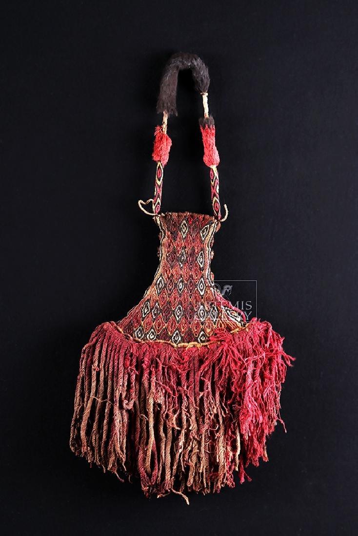 Inca Textile Ceremonial Fan - Colorful!
