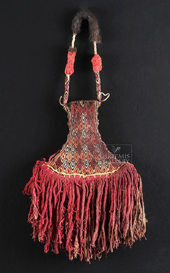 Inca Textile Ceremonial Fan - Colorful! - 2