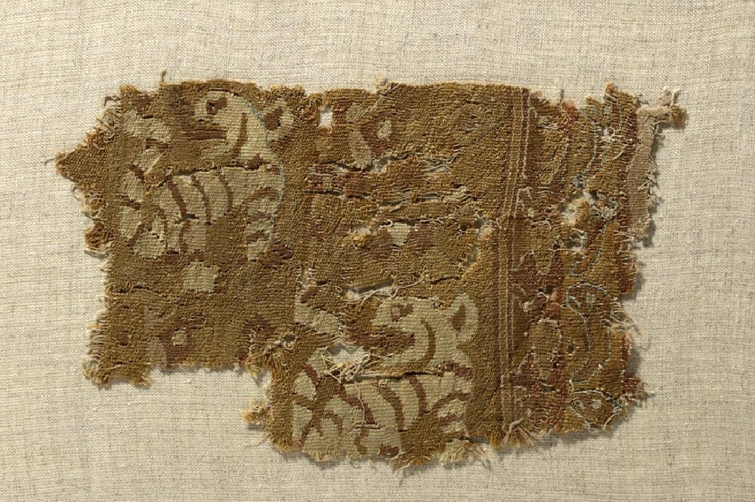 Three Pre-Columbian Chimu Textile Panels - 2