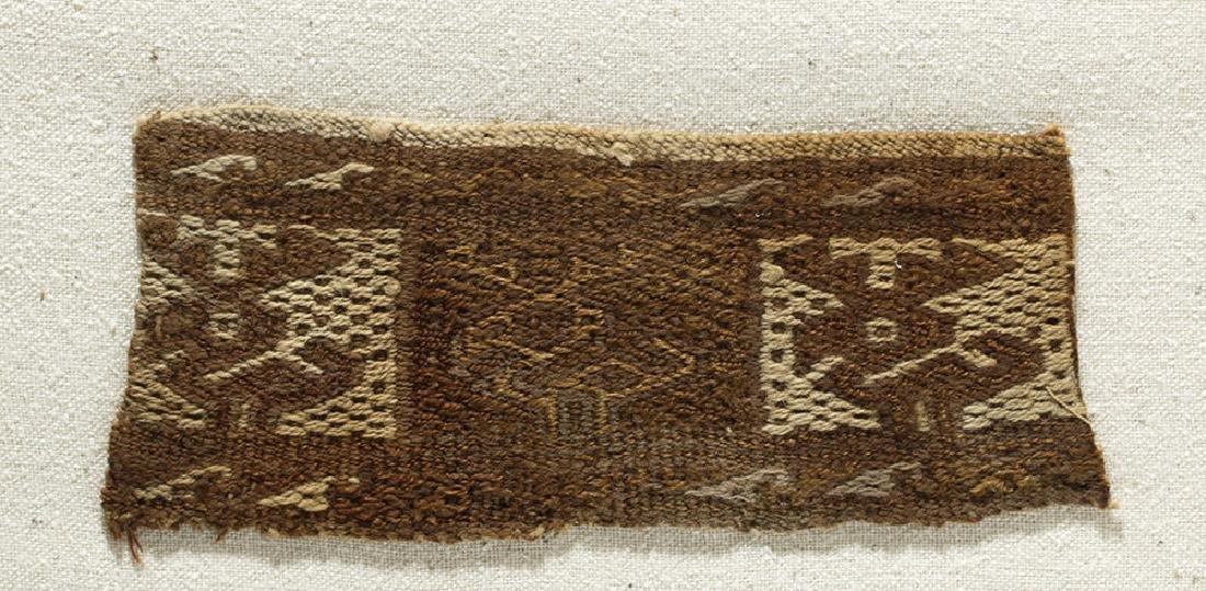 Three Pre-Columbian Chimu Textile Panels - 4