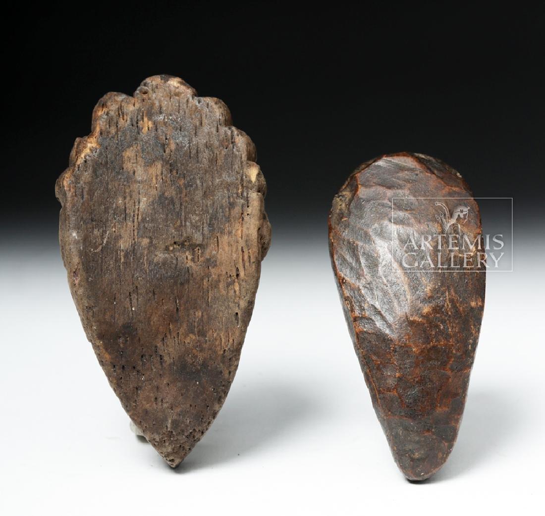 Pair of Early 20th C. African Dan Wood Passport Masks - 5
